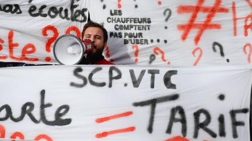 VTC : en grève, les chauffeurs déchantent