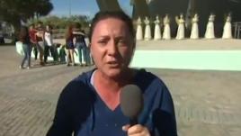 """VIDEO. Tuerie en Floride : """"Faites quelque chose ! De l'action maintenant !"""" Le cri du cœur d'une mère de victime contre Trump"""