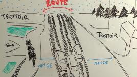 Sneckdown : plus de trottoirs grâce à la neige