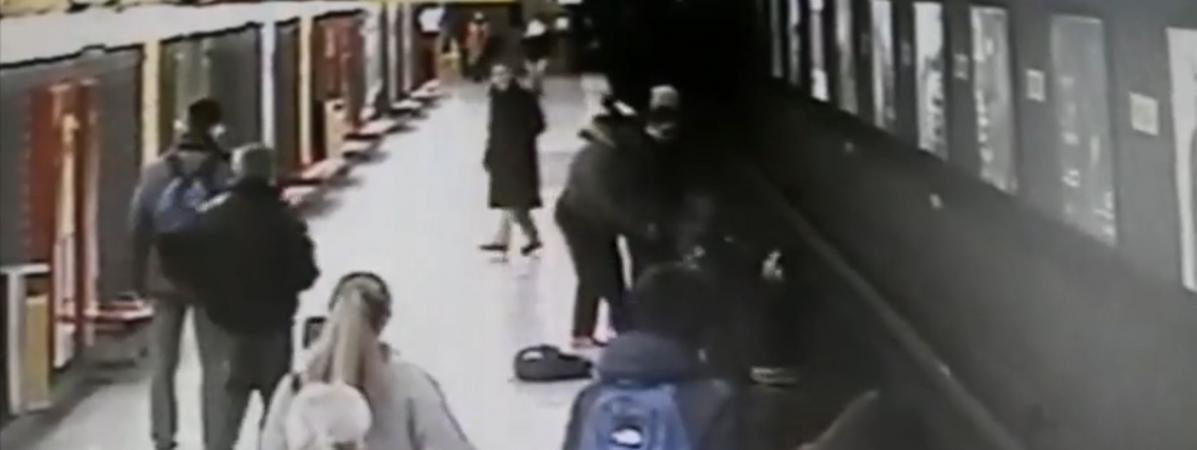 VIDEO. Italie : un jeune homme sauve un enfant tombé sur les voies ...