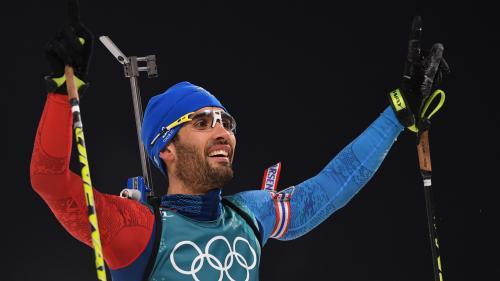 JO 2018 : Martin Fourcade décroche l'or en mass start et devient le Français le plus titré de l'histoire des Jeux d'hiver