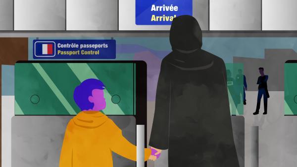 ENQUETE FRANCEINFO. De l'aéroport à l'école, l'épineux retour en France des enfants de jihadistes