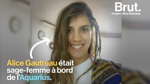 """Alice Gautreau, sage-femme à bord de l'Aquarius : """"On ne devrait pas devoir mourir en mer pour tenter d'aller vers une vie meilleure"""""""