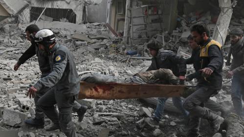 Syrie : au moins 250 morts et six hôpitaux bombardés en 48 heures dans la Ghouta orientale