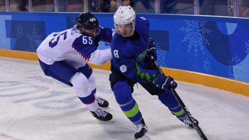 JO d'hiver 2018 : un joueur slovène de hockey sur glace contrôlé positif à un test antidopage