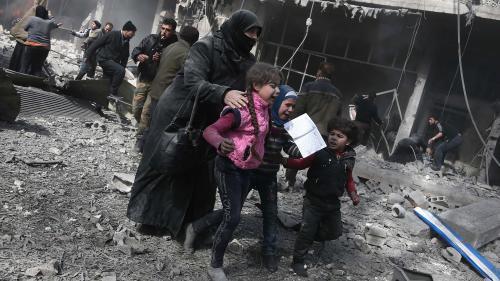 VIDEO. Syrie : le martyre des enfants de la Ghouta