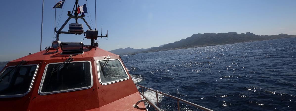 La sécurité civile en mer, en juillet 2014 (photo d\'illustration).