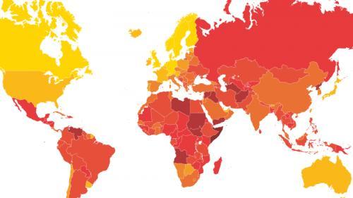 CARTE. Dans quels pays le niveau de corruption est-il le plus élevé ?