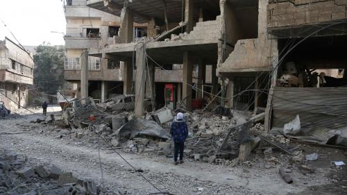 """Syrie : """"Les humanitaires ne peuvent que compter les morts"""" dans la Ghouta orientale"""