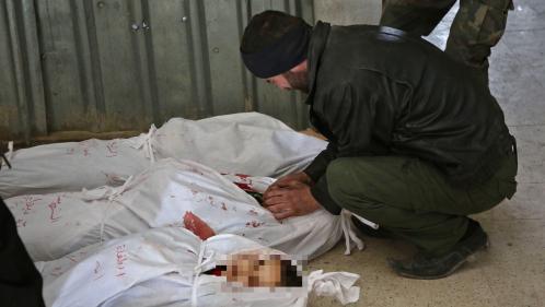 Bombardements incessants, morts par dizaines, hôpitaux débordés... En Syrie, l'offensive du régime contre la Ghouta orientale vire au carnage