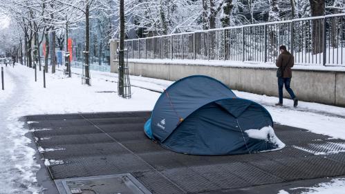 """""""Près de 3 000"""" sans-abri ont été dénombrés lors d'un premier recensement à Paris"""