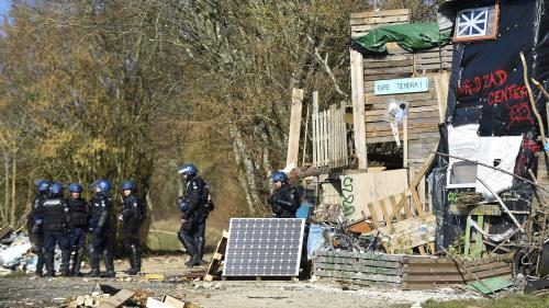 """DIRECT. Evacuation à Bure : """"Il n'y a plus d'occupants"""" dans le bois Lejuc, annonce la préfecture"""