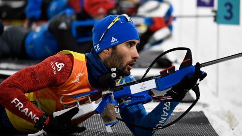 """VIDEO. JO d'hiver 2018 : Martin Fourcade salue """"des Jeux extraordinaires pour le biathlon français"""""""