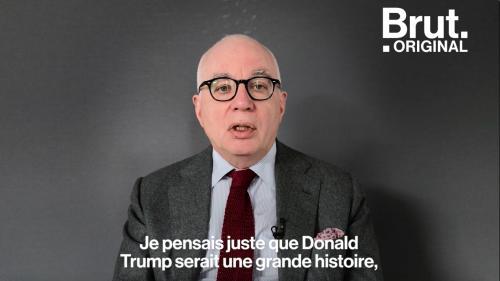 """Michael Wolff, l'auteur du livre """"le Feu et la Fureur"""" sur Donald Trump, raconte son enquête"""