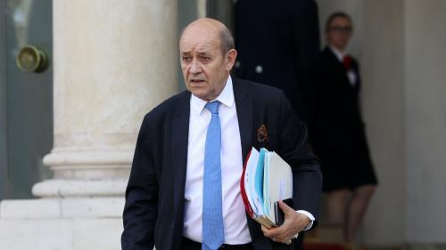 """Syrie : """"Le risque d'un embrasement régional est déjà là"""", prévient Le Drian"""