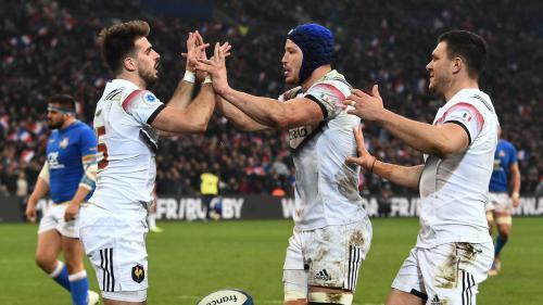 Rugby : après onze mois sans victoire, la France se rassure en s'imposant 34-17 face à l'Italie
