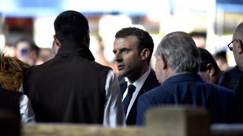 """DIRECT. """"Faut pas raconter de craques aux gens"""" : Macron réplique à un cheminot au Salon de l'agriculture"""