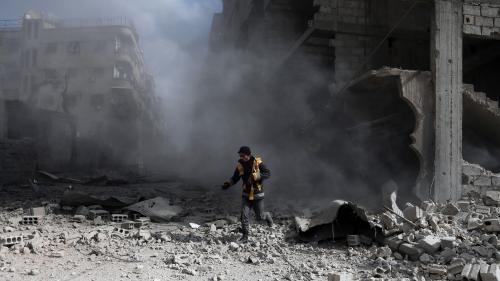 Syrie : plus de 500 morts civils dénombrés dans le fief rebelle de la Ghouta, une semaine après le début des raids aériens du régime