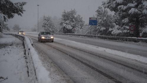 Les Alpes-de-Haute-Provence, les Alpes-Maritimes et le Var sont placés en vigilance orange à la neige et au verglas