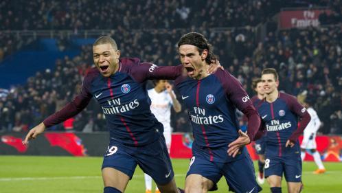 """Ligue 1 : le PSG bat facilement l'OM dans le """"clasico"""" (3-0) mais perd Neymar sur blessure"""