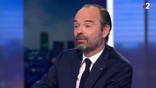 Le Premier ministre, Edouard Philippe, sur le plateau de France 2, le 26 février 2018.