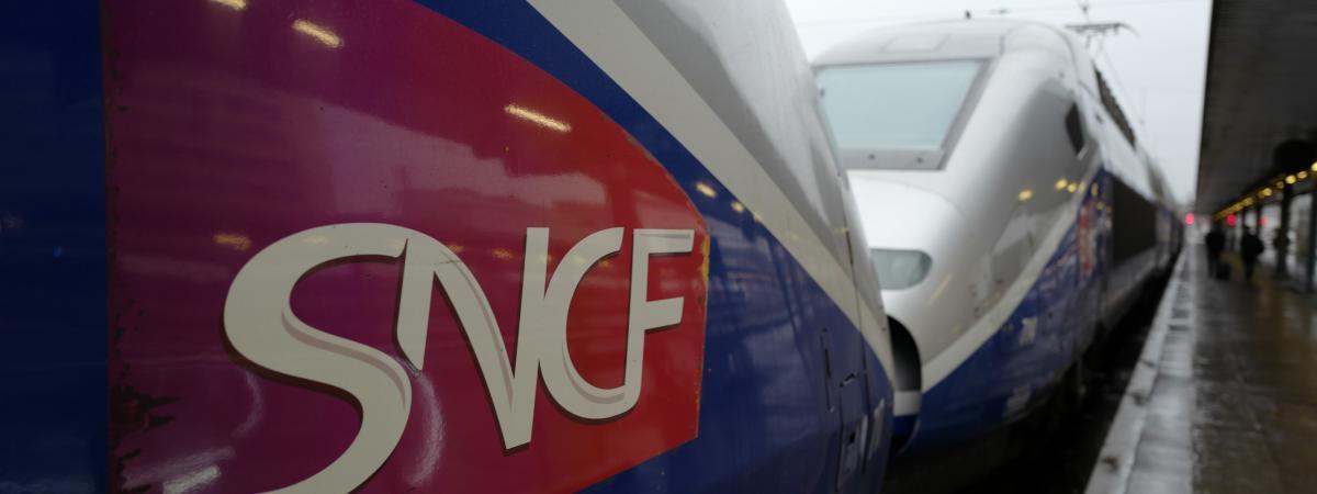 Un TGV à la gare de Lyon, à Paris, le 15 février 2018.