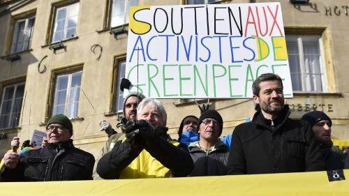 Intrusion dans la centrale de Cattenom : jusqu'à deux mois de prison ferme contre des militants de Greenpeace
