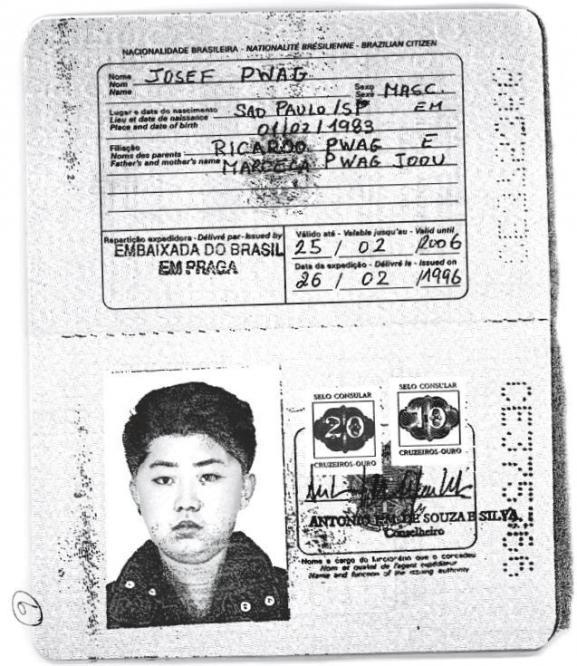 Dans les années 1990, Kim Jong-un voyageait avec un passeport brésilien