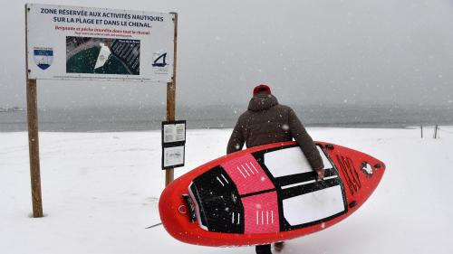 VIDEO. Vague de froid : le sud de la France sous la neige