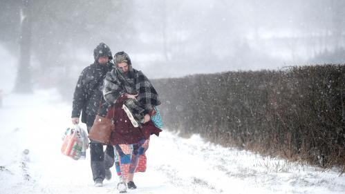 VIDEO. Le froid glacial s'installe dans plusieurs régions d'Europe