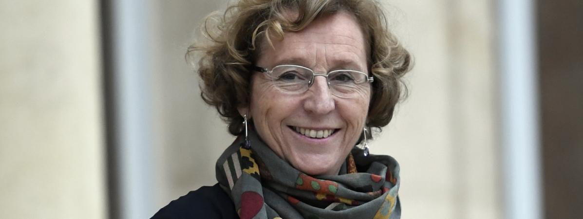 La ministre du Travail Muriel Pénicaud à l\'Elysée, à Paris, le 12 janvier 2018.