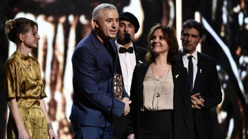 """César 2018 : triomphe pour """"120 battements par minute"""", qui reçoit le César du meilleur film, son sixième prix de la soirée"""