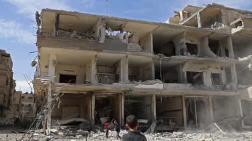 Syrie : Macron et Trump exigent l'application du cessez-le-feu voté par le Conseil de sécurité de l'ONU
