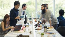 Coworking : plusieurs startups sous le même toit