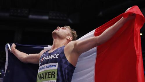Mondiaux d'athlétisme en salle : le Français Kevin Mayer est sacré champion du monde de l'heptathlon