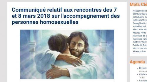 """Face à la polémique, le diocèse de Bayonne repousse ses conférences sur """"l'accompagnement"""" des personnes homosexuelles"""