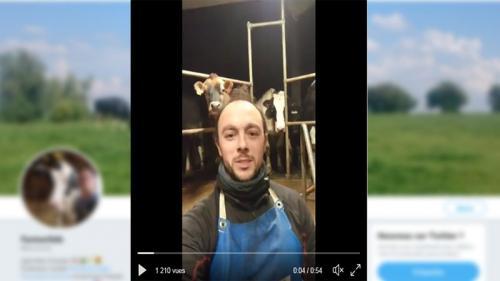 Milk Pint Challenge : un agriculteur promet 3000 litres de lait aux Restos du cœur si sa vidéo est vue 10000 fois