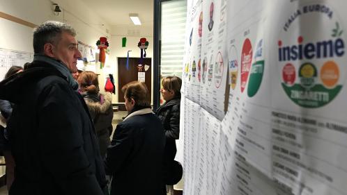 Législatives en Italie: quels sont les différents scénarios après les élections?