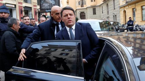"""DIRECT. Législatives en Italie: après la """"défaite cinglante"""" de la gauche, Matteo Renzi annoncé sur le départ"""