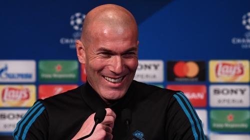 """VIDEO. """"On est à Paris ici. Moi, je suis marseillais"""", rigole Zinédine Zidane avant PSG-Real Madrid"""