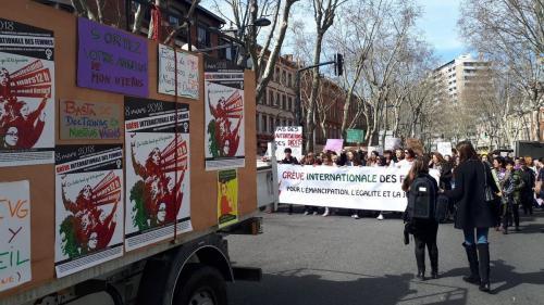 DIRECT. Journée des droits des femmes : des manifestations dans plusieurs villes de France depuis 15h40