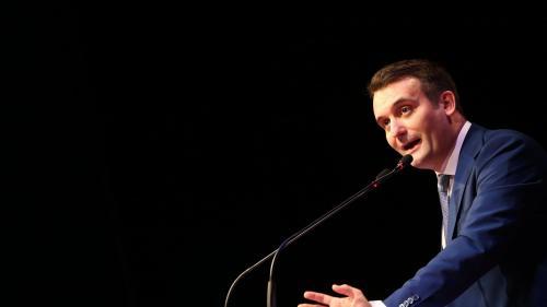 """VIDEO. Le FN organise """"un congrès de liquidation"""", lance Florian Philippot"""