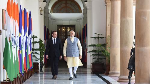 Inde : quels sont les (gros) contrats qu'Emmanuel Macron va ramener dans ses valises ?