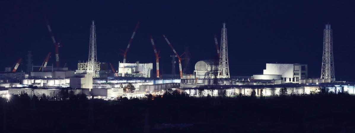 La centrale nucléaire accidentée de Fukushima (Japon), le 11 mars 2018.