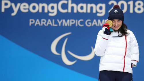 Jeux paralympiques d'hiver : la skieuse française Marie Bochet remporte la médaille d'or en Super-G