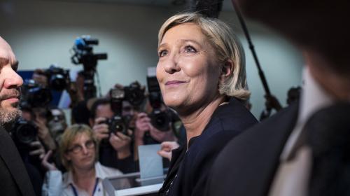 FN : les Français sont moins nombreux à souhaiter la candidature de Marine Le Pen à la présidentielle