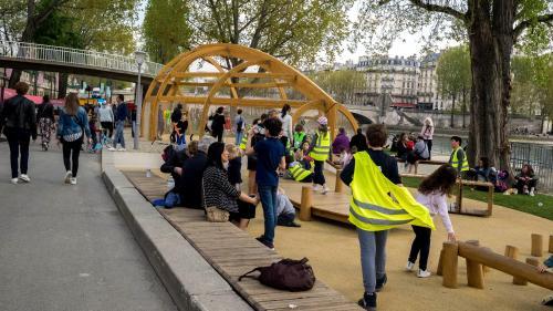 """Paris : un """"Appel des 100"""" pour des berges piétonnes"""