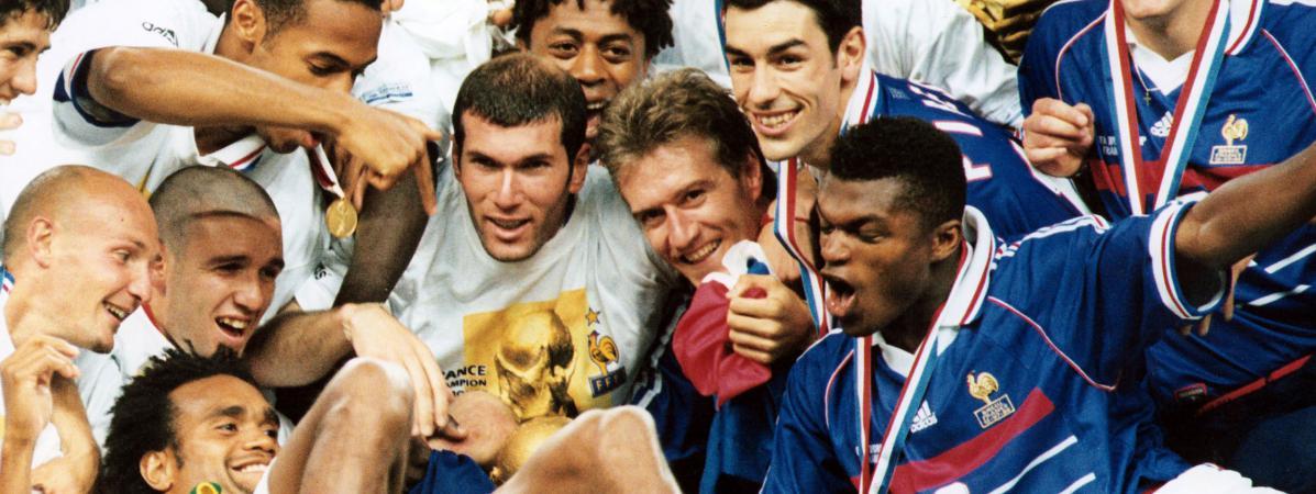 Foot 20 ans apr s la victoire de la france en coupe du monde les bleus de 1998 reviennent - Jeux de foot match coupe du monde ...
