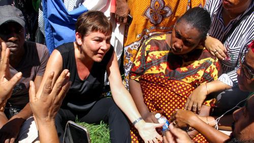 """Mayotte : Annick Girardin promet de mener sa """"mission"""" pour """"renouer le dialogue et sortir de cette situation de blocage"""""""