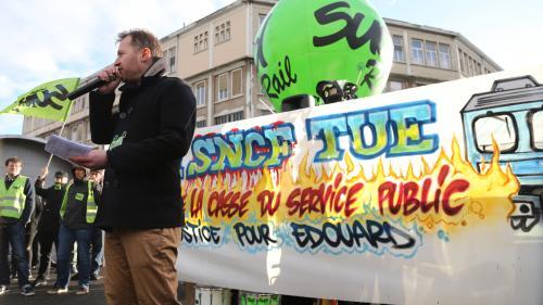 SUD Rail et la CGT Cheminots s'invitent à la réception pour les 80 ans de la SNCF